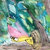 Bekijk details van Expositie: tekeningen van Anne Klusman