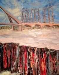 Bekijk details van Expositie: 'Voorbij de eigen horizon' van cultuur- en landschapsschilder Nicoline Hendriks
