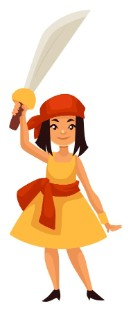 Bekijk details van Kinderboekenweek   Piratenprinses 3+