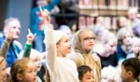 Bekijk details van Kindercollege - Buitengewone Biebdag   Kletskoppen: Hoe beleef jij een verhaal?   8+